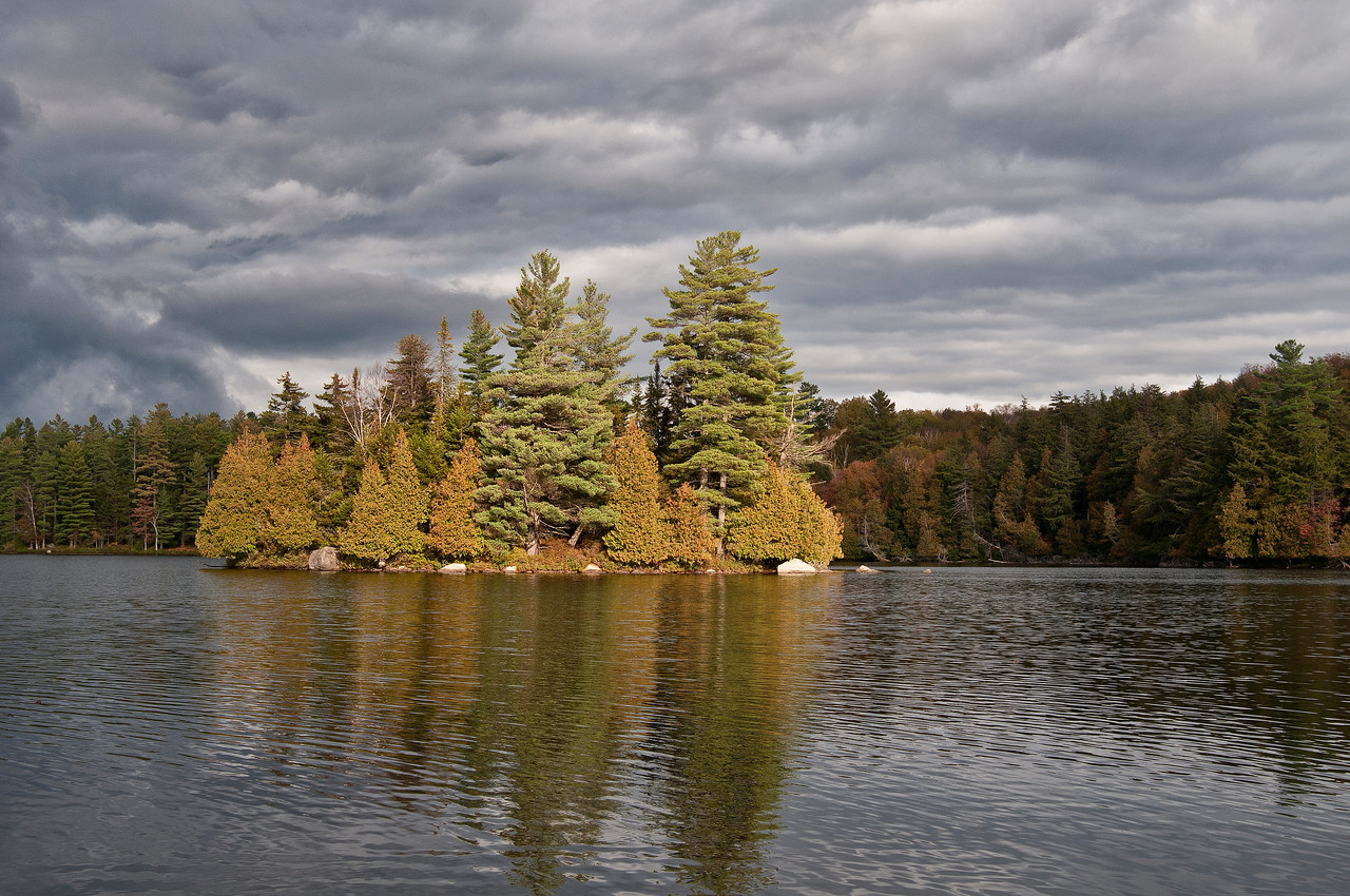October 2 - St. Regis Canoe Area, Adirondacks
