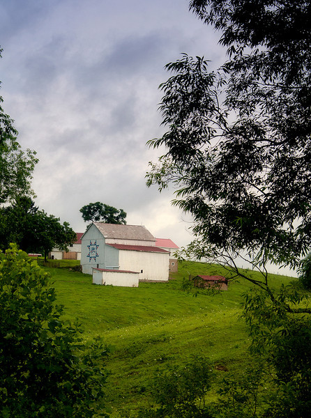 July 24 - Barn quilt outside of Belmont, OH