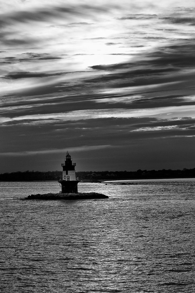 October 24 - Keeping with my tradition with photographing the Orient Point Lighthouse at each opportunity over the past many years.