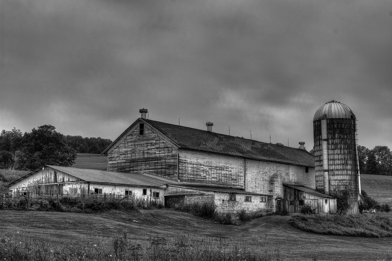 August 15 - Barn on Shawler Brook Road in Columbus.  It's about 3 miles from my home.