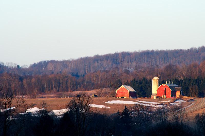 March 20 - Barn at Sunrise in the Unadilla Valley.