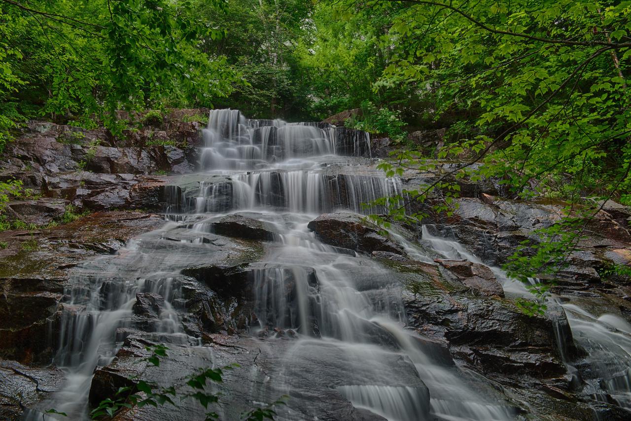 July 8 - Death Falls, Raquette Lake, Adirondacks