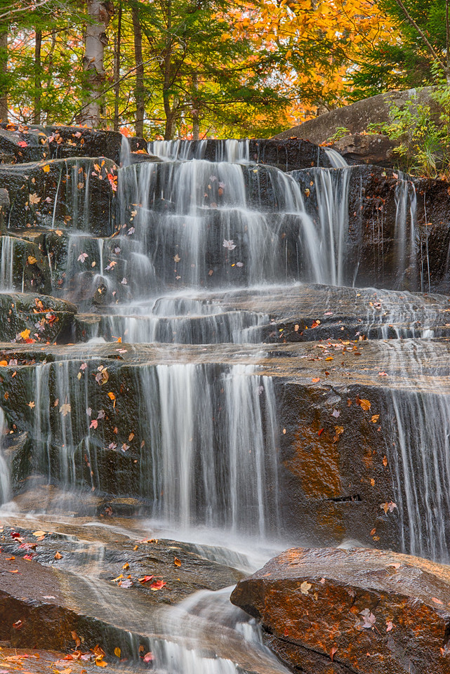 October 11 - Death Falls in the central Adirondacks