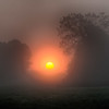 September 2 - Sun rise in the fog