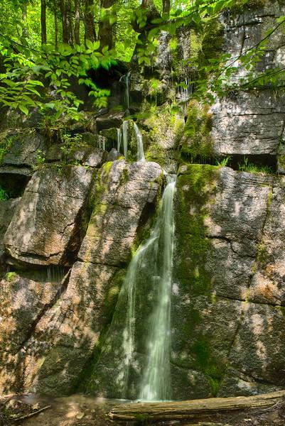 June 4 - Small falls in the Adirondack High Peaks