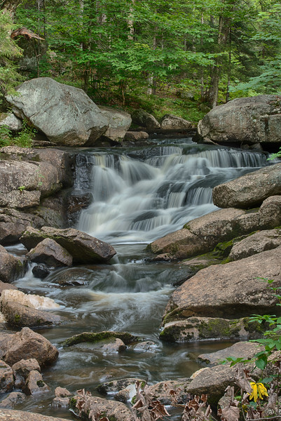 August 15 - Whiskey Brook Falls in the Adirondacks