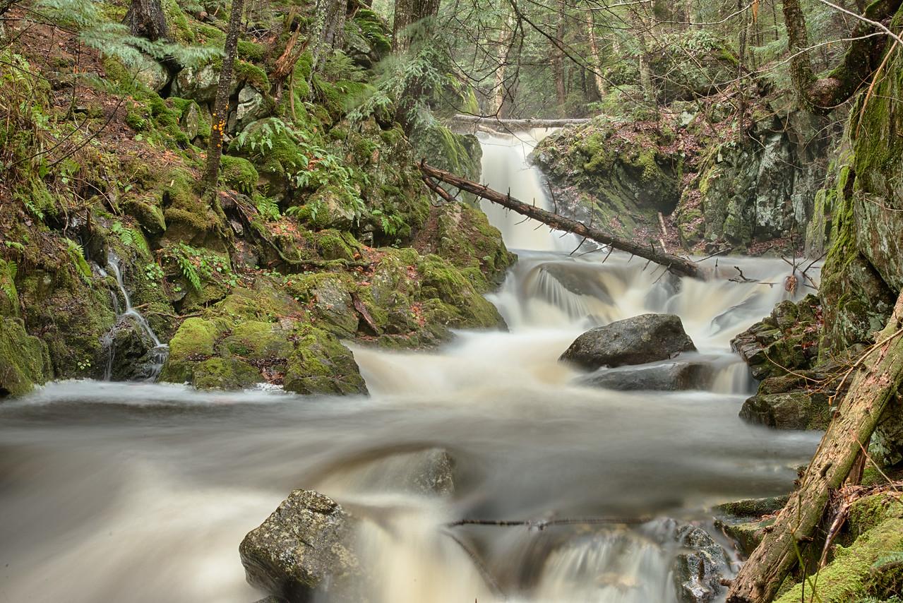 East Jimmy Creek Falls near Wells, NY