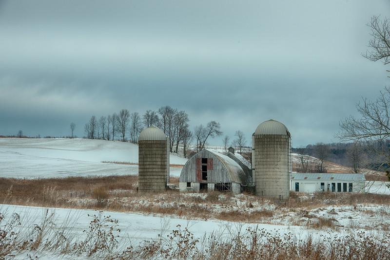 January 23 - Otsego County barn