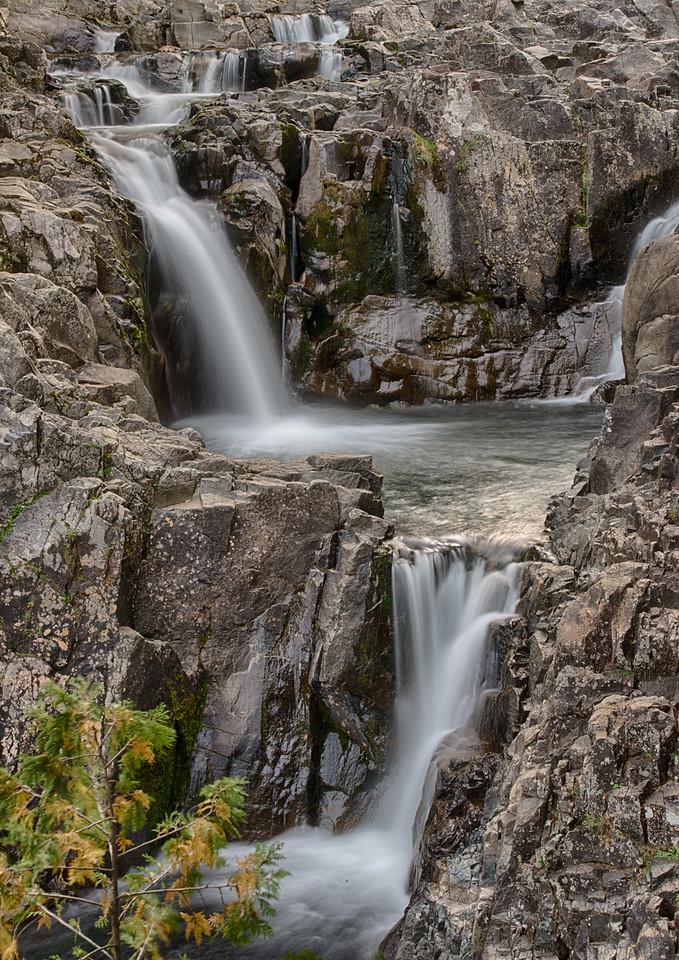 September 26 - Split Rock Falls, Adirondack Mountains