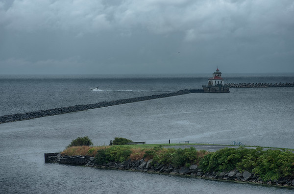 August 21 - West Pier Lighthouse, Oswego, NY