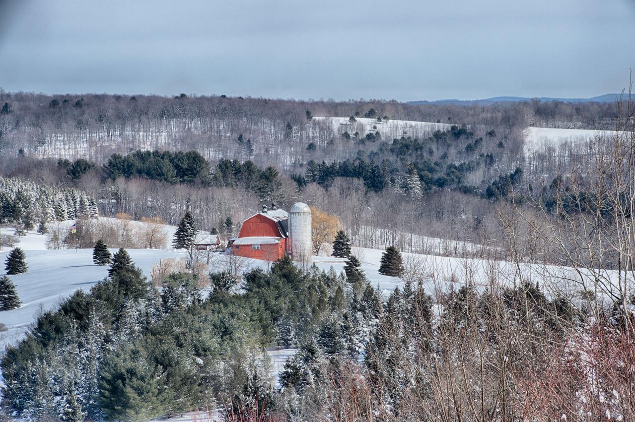 February 14 - Barn in Columbus