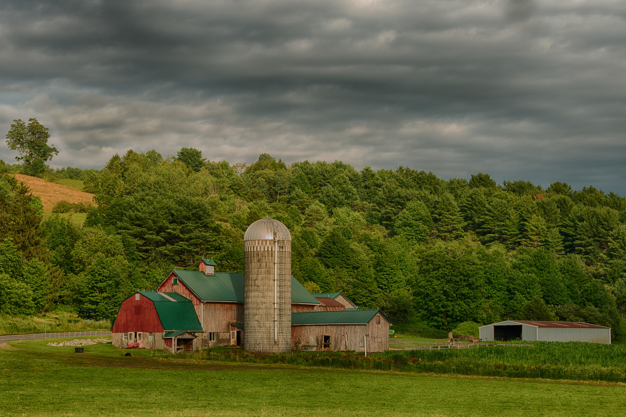 July 20 - Barn near the hamlet of Columbus