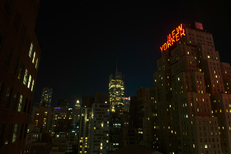 June 3 - View from my hotel room in New York City