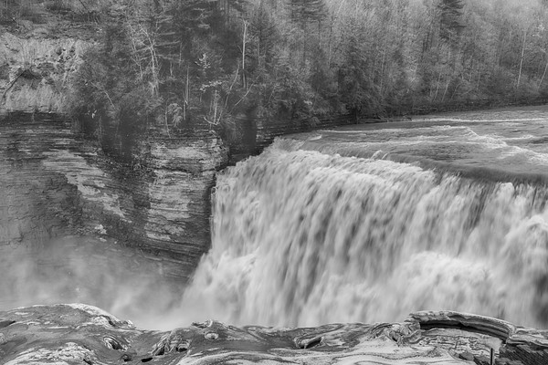 January 26 - Middle Falls, Letchworth State Park