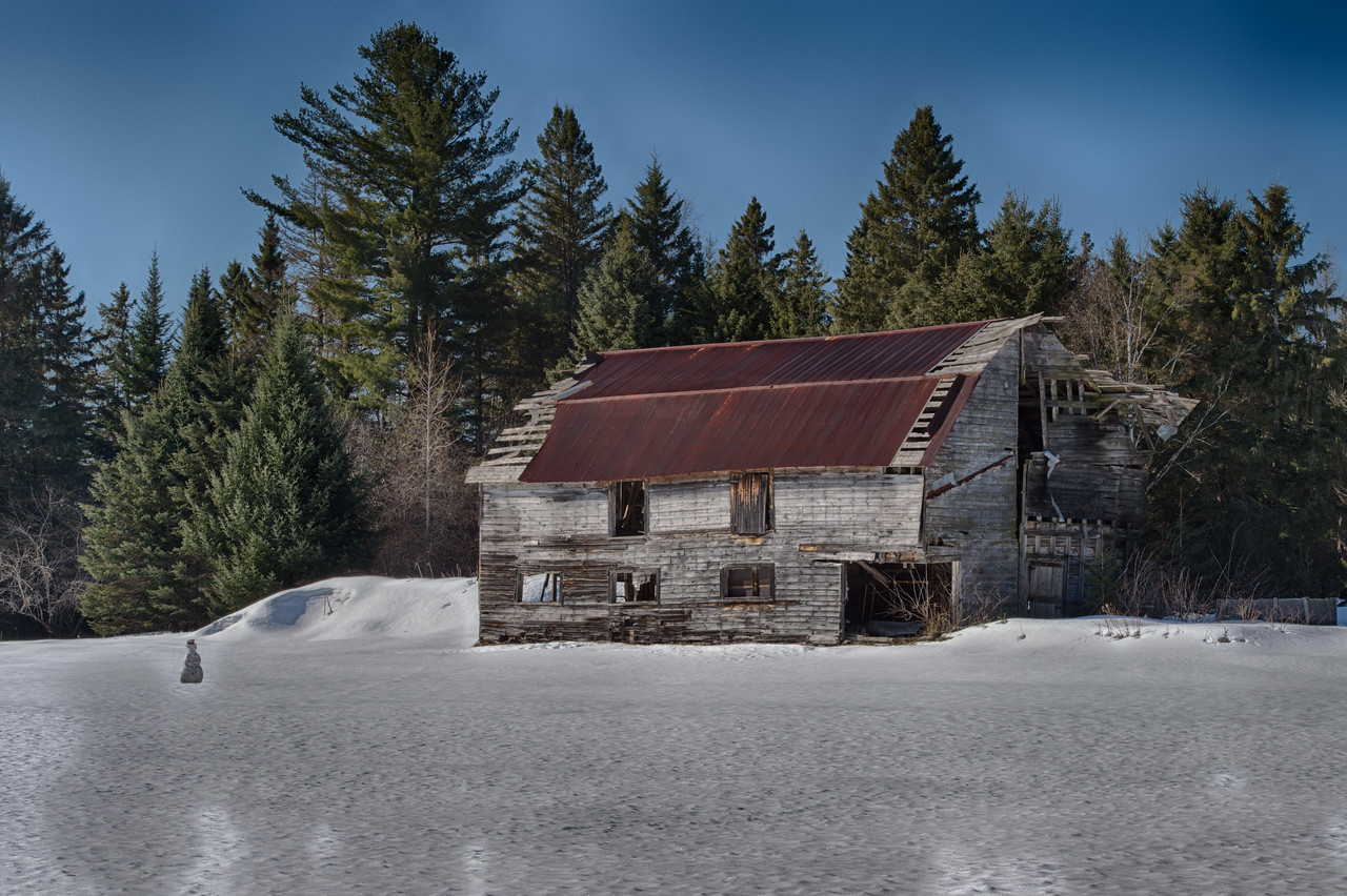 February 23 - Back roads of Vermontville in the Adirondacks