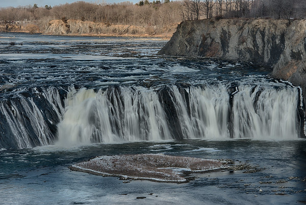 February 2 - Cohoes Falls north of Albany, NY
