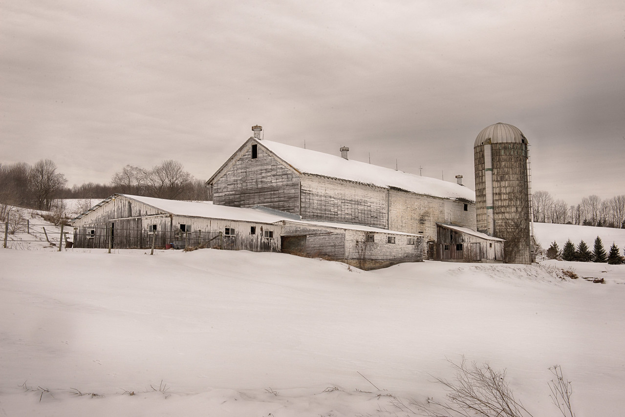 February 6 - Barn on Shawler Brook Road here in Columbus