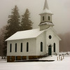 January 24 - Old Welsh Church, Nelson, NY. Built in 1876