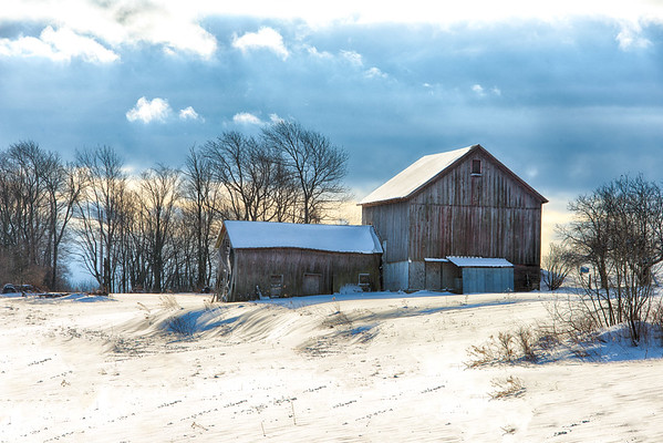January 5 - Back roads of Otsego County west of Cooperstown