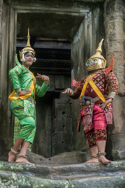 The apsara and the ogre