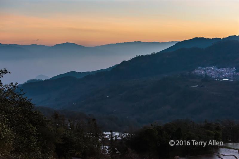 Sunrise at Qingkou