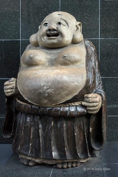 Fat jolly Buddha statue