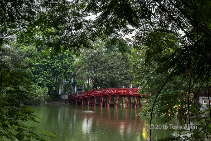 Huc Bridge (The Red Bridge)