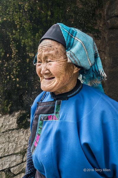Portrait of a village elder