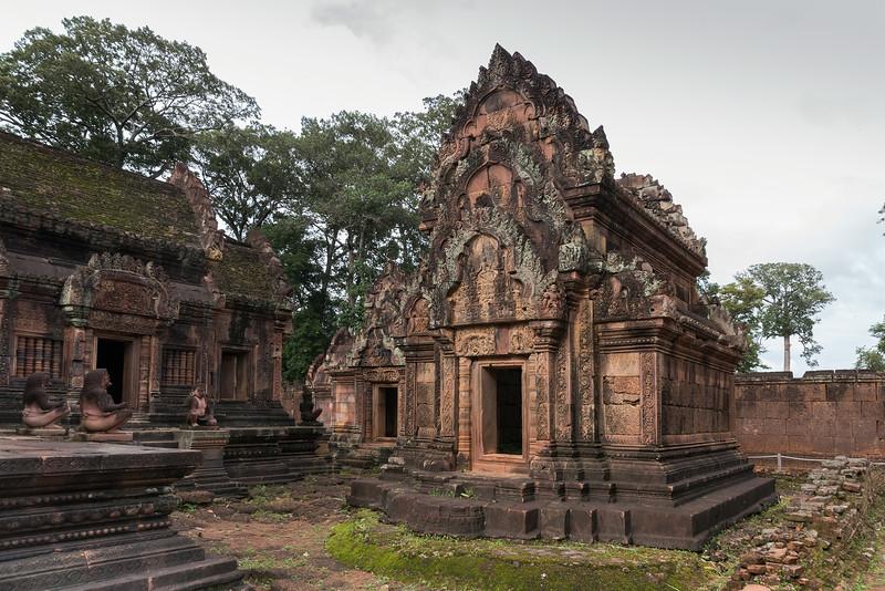 South library, Banteay Srei