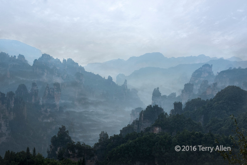 Mists at Wulingyuan