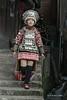Short skirt Miao woman