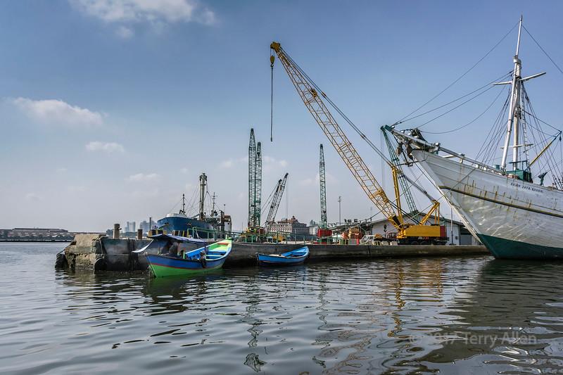 Sunda Kelapa outer harbour