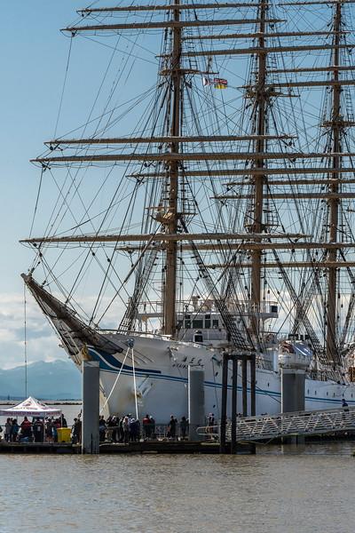 Kaiwo Maru at dock
