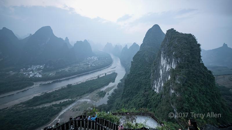 View from Xinaggongshan Hill