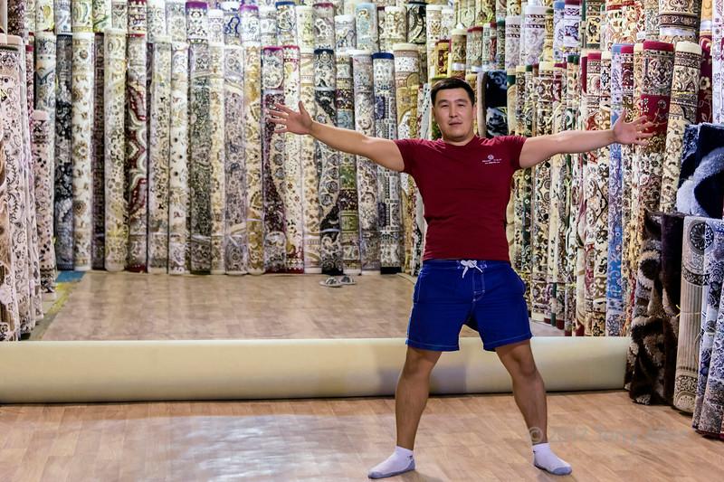The carpet salesman