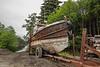 Rusted tug boat