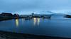 Pre-dawn boat harbour
