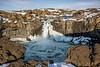 Aldeyjarfoss waterfall