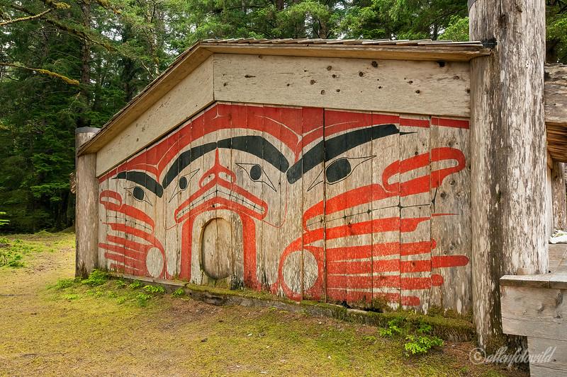 Haida longhouse