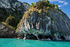 Marble Caves and cliffs