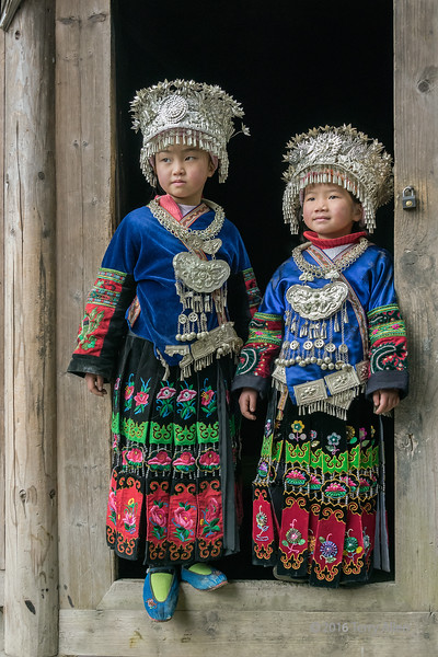 Long Skirt Miao sisters