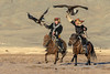 "Galloping with eagles<br /> <br /> Kazakh eagle hunters galloping at full speed with their eagles held high, Western Mongolia<br /> <br /> Other photos of the eagle hunters can be seen here: <a href=""http://goo.gl/H81GOL"">http://goo.gl/H81GOL</a><br /> <br /> 27/03/15  <a href=""http://www.allenfotowild.com"">http://www.allenfotowild.com</a>"