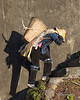 "Hani woman with a heavy load.<br /> <br /> Taken at a construction site in Yuanyang Province (just north of the South China border with Vietnam).  Much of the work of all types in this area is done by hand. Women from the Hani minority were hauling wicker baskets full of sand and rock up some crude stairs in the early morning light.  The grey concrete make a perfect neutral grey background.<br /> <br /> I'm back after spending a couple of weeks photographing the ethnic peoples of Guizhou and Yunnan provinces in Southern China. Terrible internet connections in China with many sites completely embargoed (including Google, gmail, UTube, Facebook, Twitter plus many others even in major hotels in major cities), so no point even trying to post or comment.  <br /> <br /> Thank you all, and especially Rick Willis for helping to keep my photos 'alive' during the past 2 weeks during my absence!<br /> <br /> I'm posting a couple of 'sneak preview' photos today to provide a taste for what I've been photographing.<br /> <br /> 29/01/15  <a href=""http://www.allenfotowild.com"">http://www.allenfotowild.com</a>"