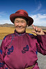 "Portrait of a Mongolian matron in her Sunday best, Genghis Khan monument, Tsonjin Boldog, Mongolia<br /> <br /> Other photos from the area can be seen here: <a href=""http://goo.gl/D3RUus"">http://goo.gl/D3RUus</a><br /> <br /> 12/02/15  <a href=""http://www.allenfotowild.com"">http://www.allenfotowild.com</a>"
