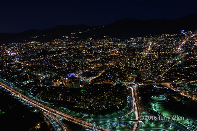 """City lights (best larger)<br /> <br /> Looking towards Torchal mountain from Milad Tower at night, Tehran, Iran.  Note the silhouette of the mountains in the background.  <br /> <br /> It was very windy at the top of the tower and even with a good tripod it was very difficult to keep the camera 100% steady in such a tall building since the building itself moved with the wind.  I braced the tripod against the building structure in the lee of the wind and shot between gusts, but it still required several shots to get it tack sharp.<br /> <br /> Other photos from Tehran and Shiraz can be seen here: <a href=""""http://goo.gl/fVfXXc"""">http://goo.gl/fVfXXc</a><br /> <br /> 27/04/15  <a href=""""http://www.allenfotowild.com"""">http://www.allenfotowild.com</a>"""