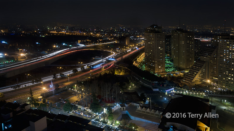 """Streams of light; night time traffic, Tehran, Iran (best largest)<br /> <br /> Other photos from Tehran can be seen here: <a href=""""http://goo.gl/DTTUlh"""">http://goo.gl/DTTUlh</a><br /> <br /> 12/04/15  <a href=""""http://www.allenfotowild.com"""">http://www.allenfotowild.com</a>"""