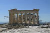 The beautiful Acropolis appears now to be in an almost constant state of repair.  Athens, Greece