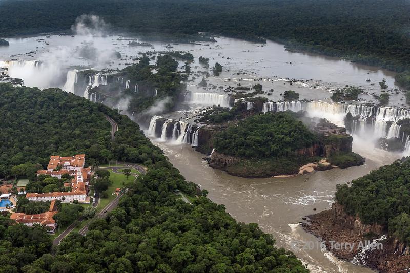Iguazu falls and Hotel das Cataracas