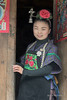 "Smiling Miao girl<br /> <br /> Young girl belonging to the Green Medium Skirt Miao ethnic minority in traditional attire.  Shiqiao Miao Village, Guizhou Province, China<br /> <br /> 06/09/15  <a href=""http://www.allenfotowild.com"">http://www.allenfotowild.com</a>"