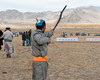 "Shooting the arrow<br /> <br /> Archery competition, Eagle Festival, Olgii, Western Mongolia<br /> <br /> The first competition at the Olgii Eagle Festival was archery  where the competitors shoot blunt tipped arrows at target marks on a long piece of cloth.   In this shot you can see the arrow in the air midway up the bow.<br /> <br /> Other photos of the archery competition can be seen here: <a href=""http://goo.gl/NT8kc7"">http://goo.gl/NT8kc7</a><br /> <br /> 22/06/15  <a href=""http://www.allenfotowild.com"">http://www.allenfotowild.com</a>"